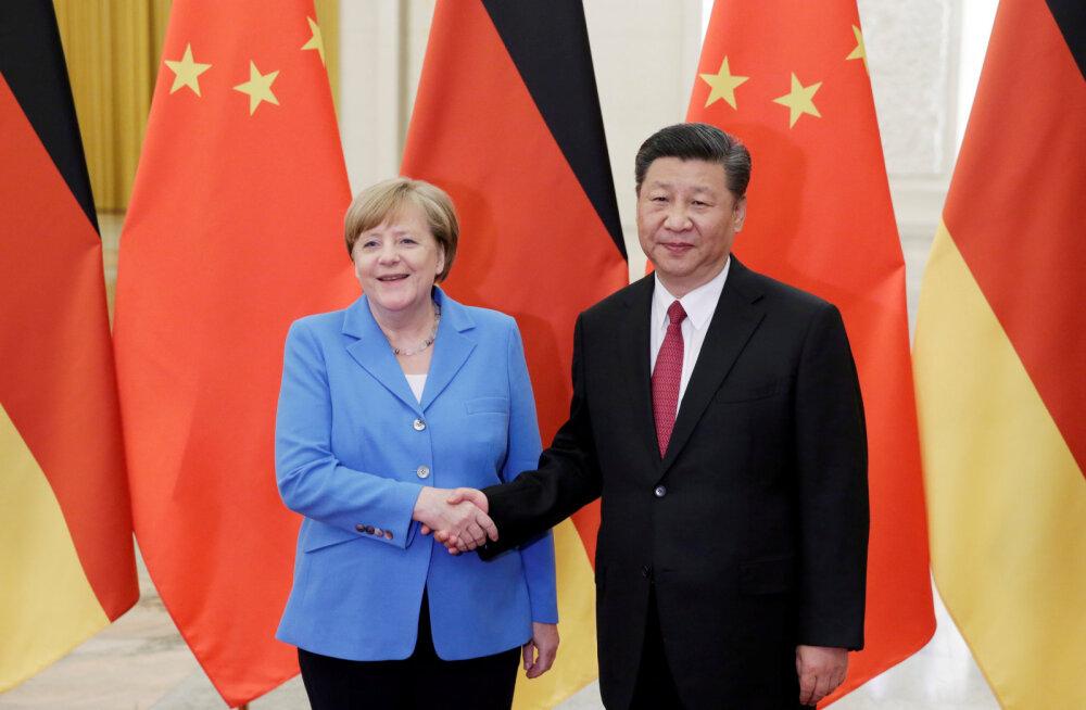ÜLEVAADE | USA rakendab Hiina suhtes aina karmimaid meetmeid, ettevaatlikud eurooplased kaitsevad majandushuve