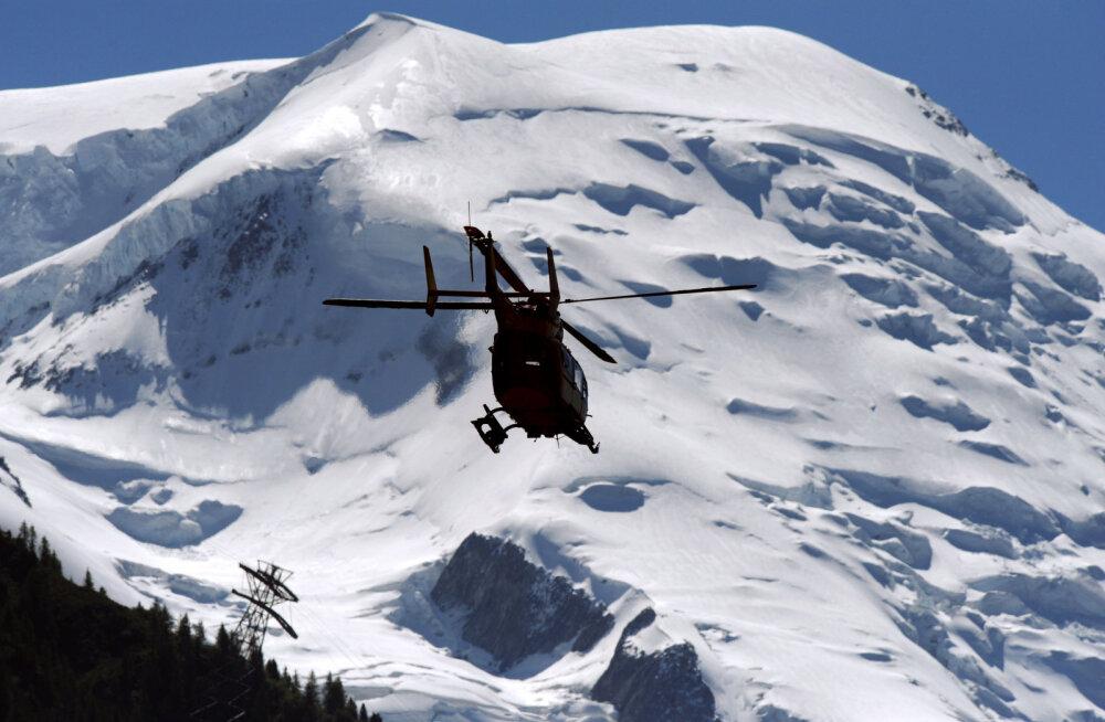 Alpides jättis kukkumise tagajärjel elu kaks saksa mägironijat