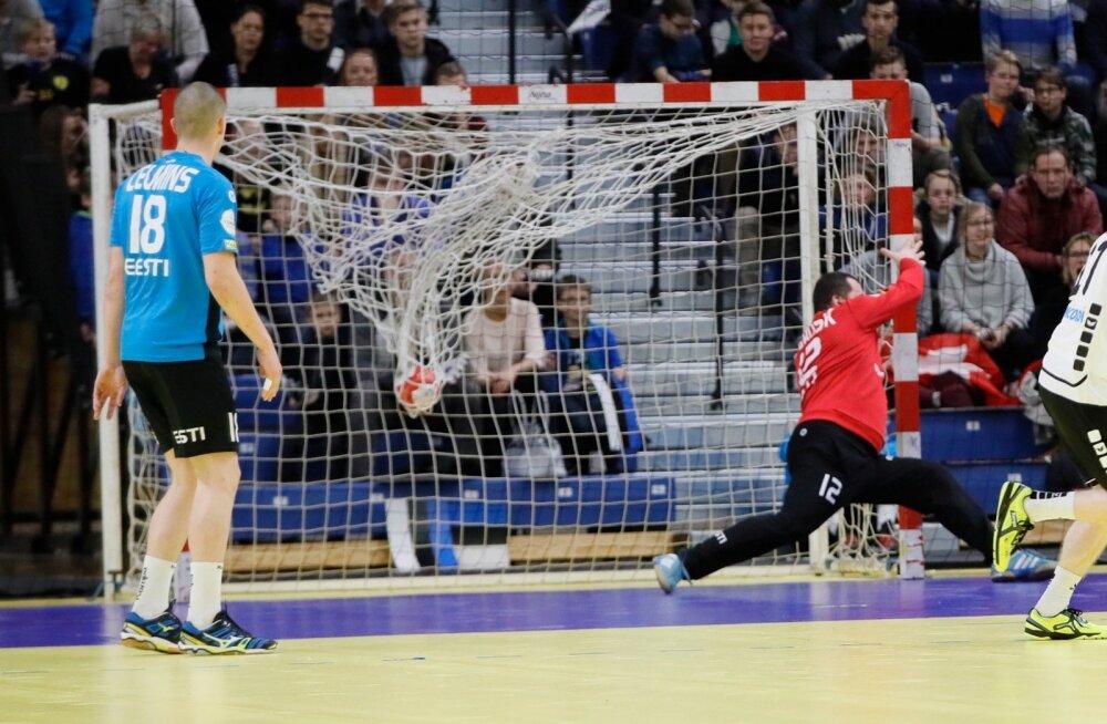Käsipall Eesti vs Šveits