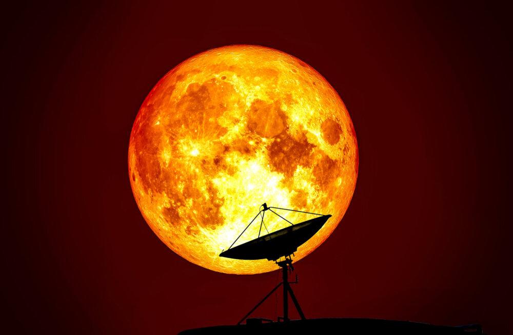 Võimas! Täna kõrgub taevas 21. sajandi suurim superkuu!