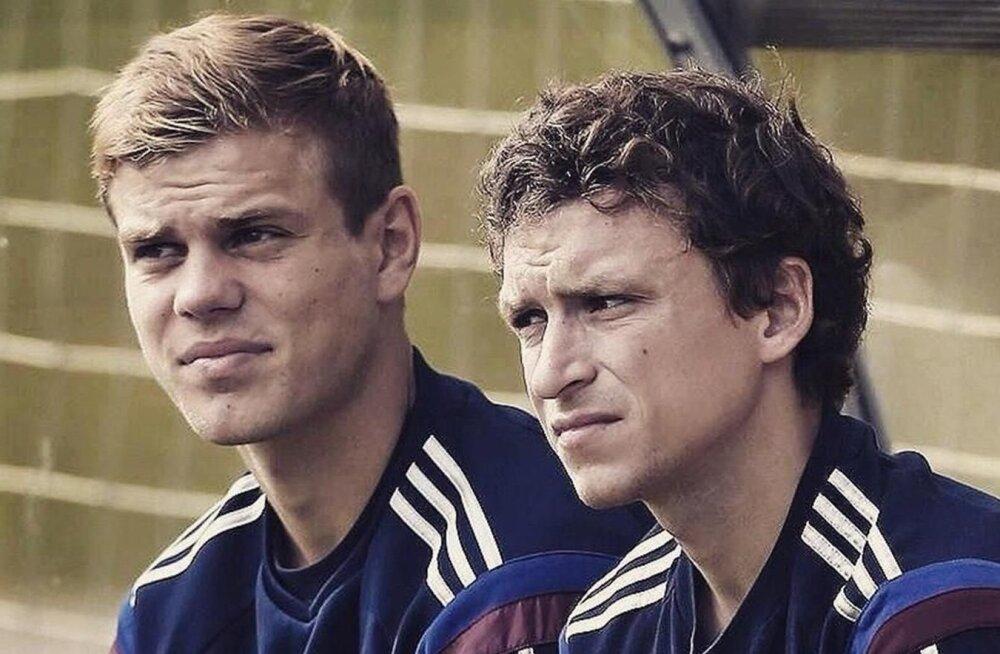 Alexander Kokorin ja Pavel Mamaev