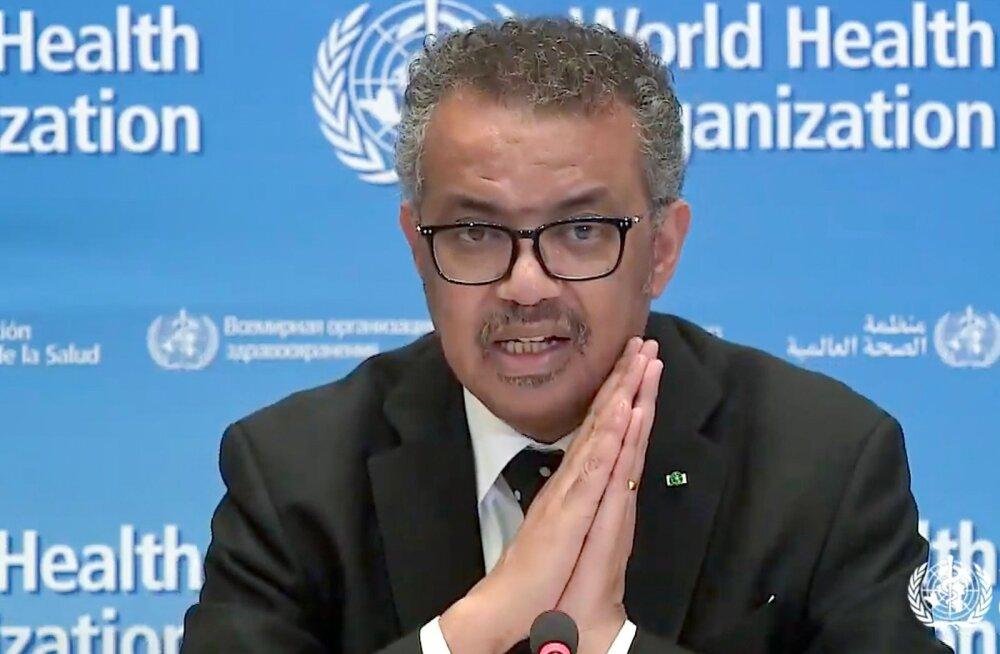 WHO: koroonaviiruse pandeemia levik kiireneb, 100 000 nakatumist registreeriti vaid 4 päevaga