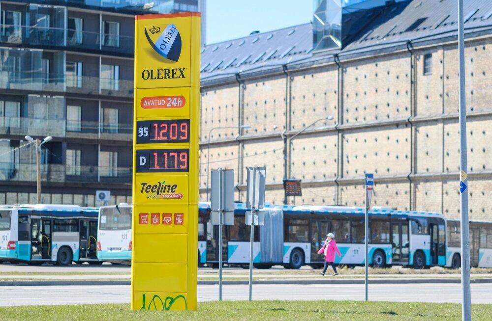 Olid ajad: kütusehinnad mais 2017.
