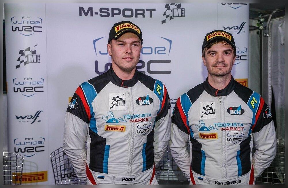Roland Poom ja Ken Järveoja said Korsika ralli testikatselt hea tunde ning on hooaja teiseks JWRC etapiks valmis