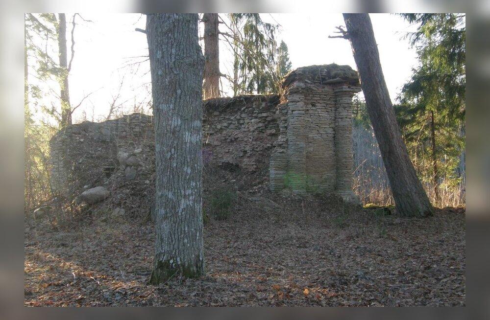 Rosenthali kabeli varemed 30. aprillil 2013. Foto: Jüri Kusmin