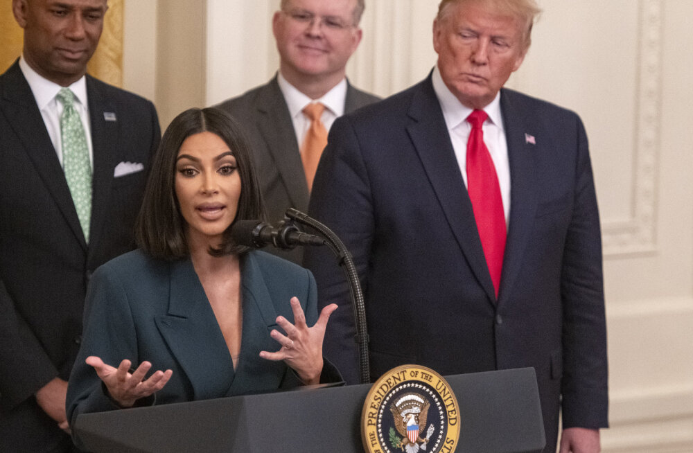 Võimas naine! Kim Kardashian sai 5000-le vangile tööintervjuu