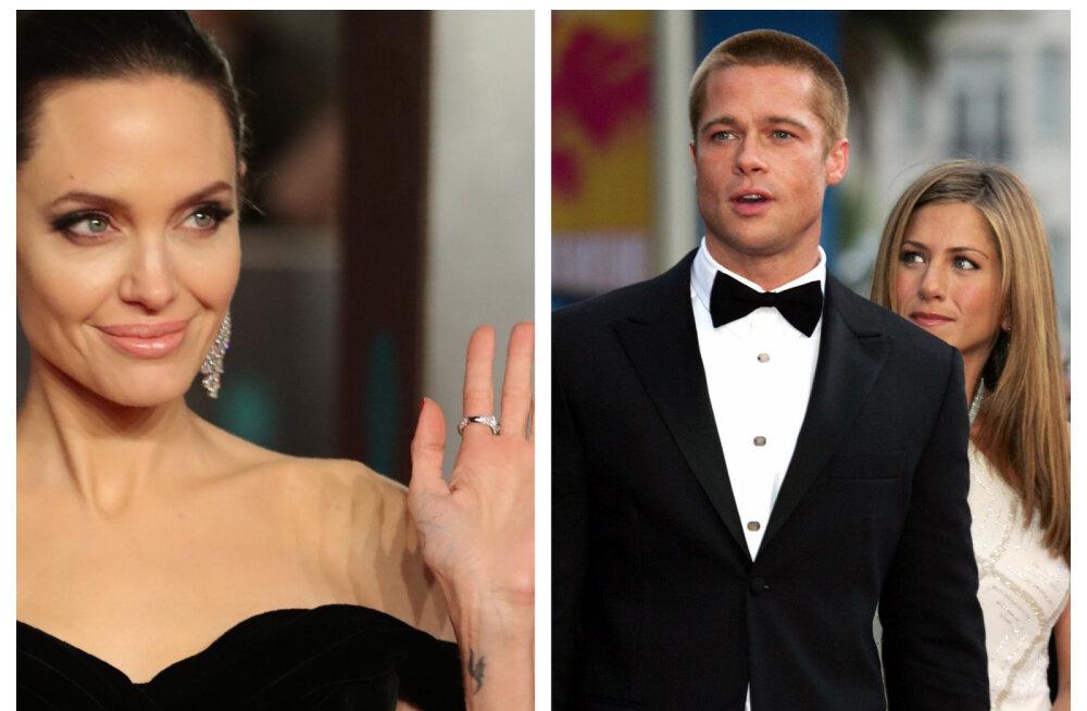 Suhtedraamad staaride moodi: skandaalsed armukolmnurgad Brad Pittist Cameron Diazeni