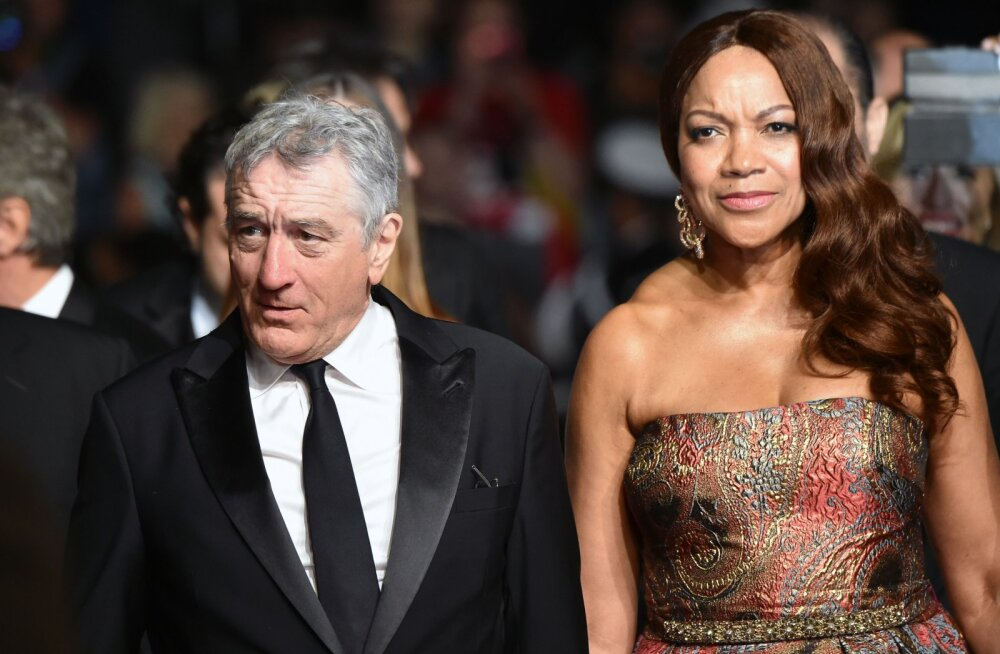 Robert De Niro ja Grace Hightower