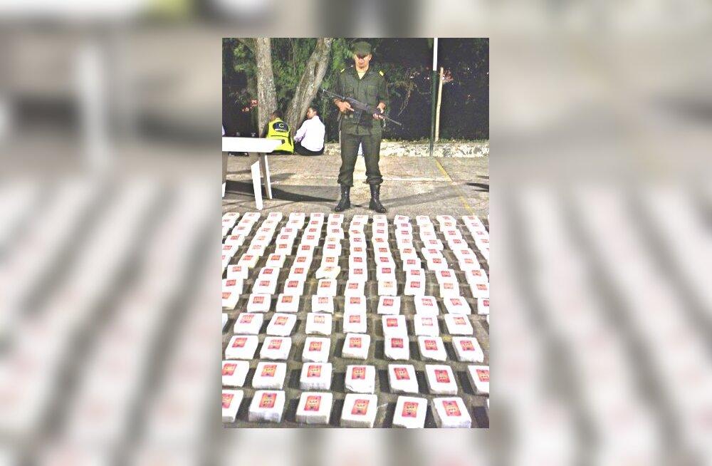 Kariibi merelt tabati kaks tonni kokaiini