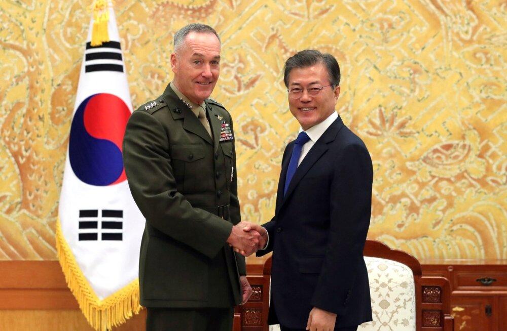 USA sõjaväejuht: sõjalised valikud Põhja-Korea vastu on ainult juhuks, kui diplomaatia ja sanktsioonid ei tööta