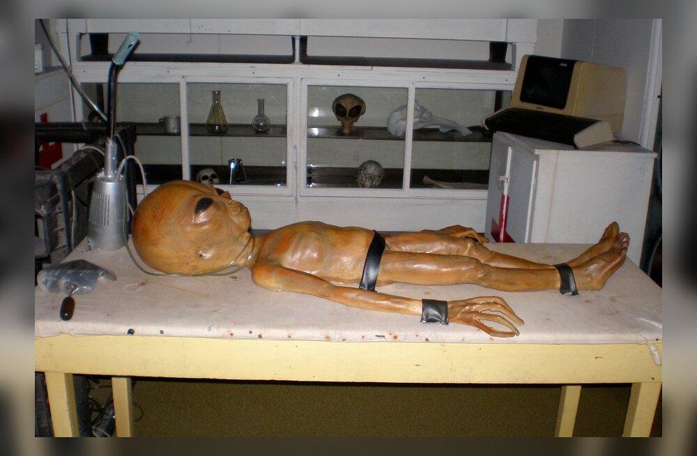 """CIA tunnistas salapärase """"ufobaasi"""" Area 51 olemasolu"""