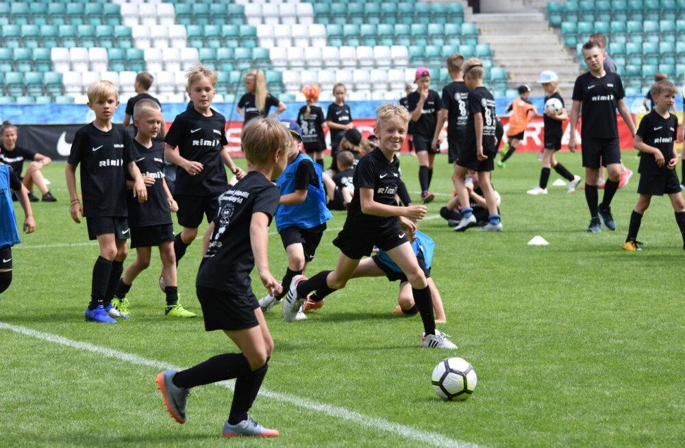 Laste jalgpallitrenn