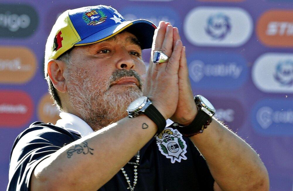 Kas Maradona hakkab surema? Vutilegendi tütar tegi kummalise avalduse