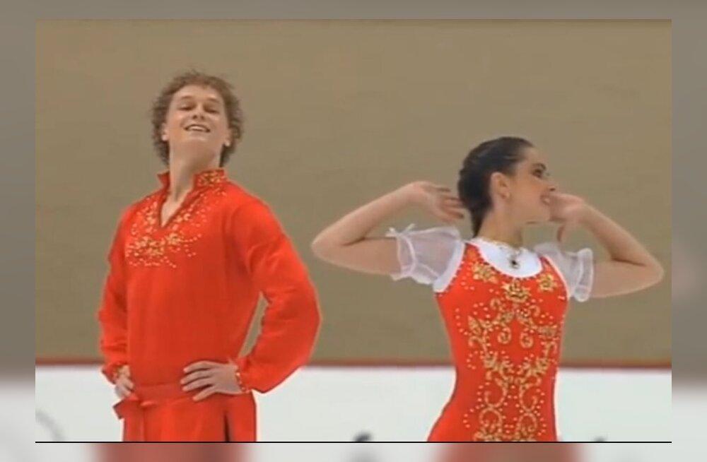 Natalja Zabijako ja Aleksandr Zabojev