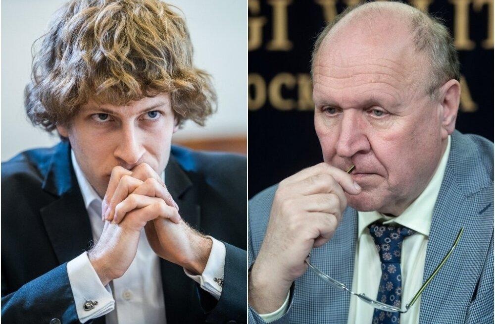 Sotsiaalminister Tanel Kiik ja siseminister Mart Helme