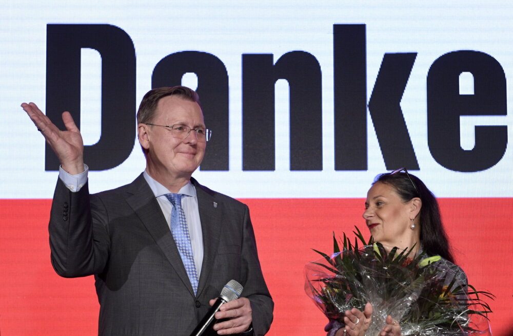 Saksa Tüüringi liidumaa valimised võitis Vasakpartei ja edu saatis ka paremäärmuslasi