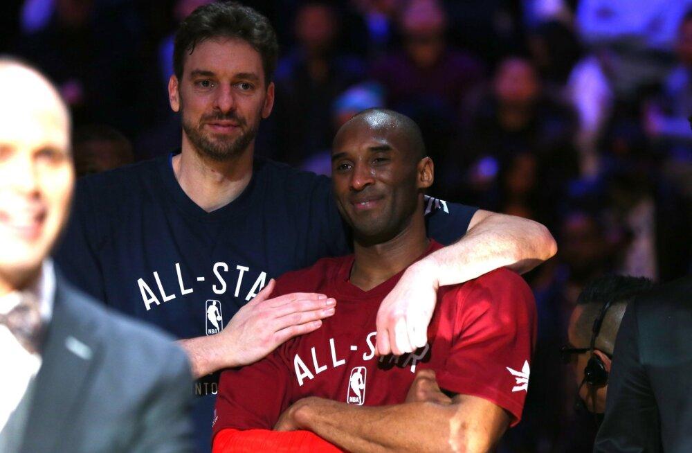 Pau Gasol ja Kobe Bryant