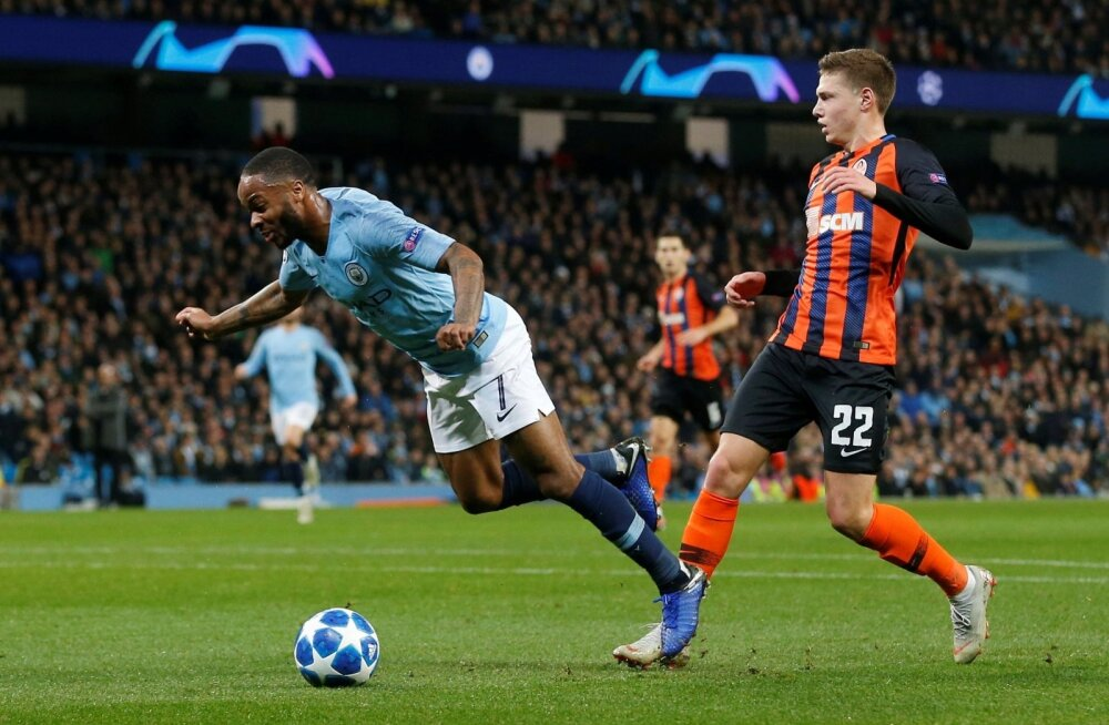 Manchester City vs Shakhtar