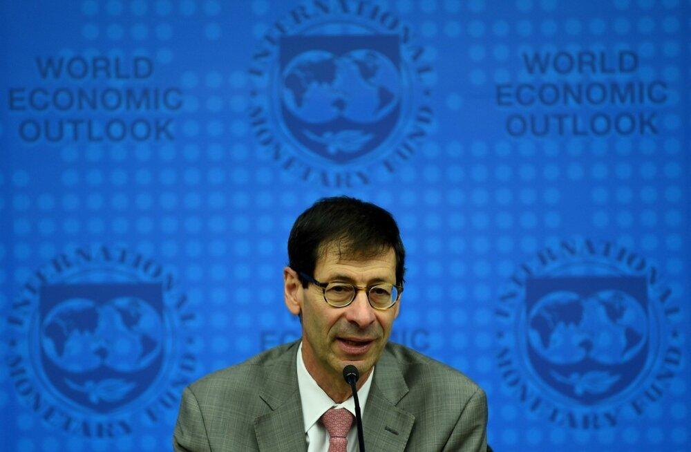 IMFi peaökonomist Maurice Obstfeld täna Kuala Lumpuris küsimustele vastamas.
