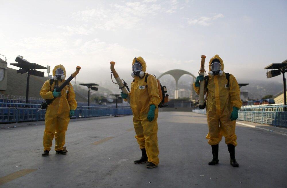 Naissoost olümpiaturiste ja sportlasi hoiatatakse Brasiilias vohava Zika viiruse eest