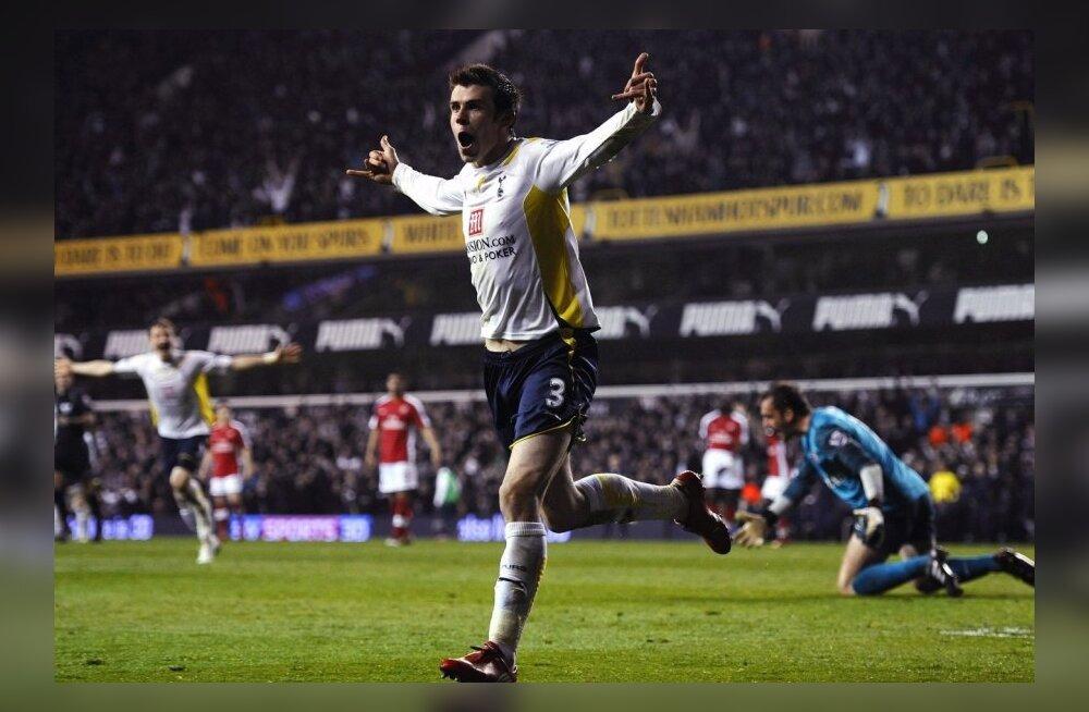Arsenali jalgpallur ei valinud Gareth Bale`i sümboolsesse koondisse
