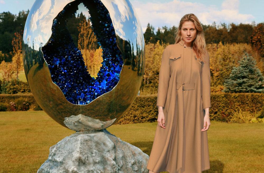 ФОТО | Виртуальные платья и 3D-пальто. Отечественный бренд DIANA ARNO представил первую в Эстонии коллекцию цифровой одежды