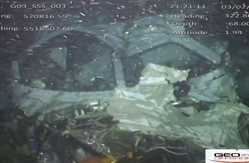 Emiliano Sala't transportinud lennuk leiti merepõhjast üles.