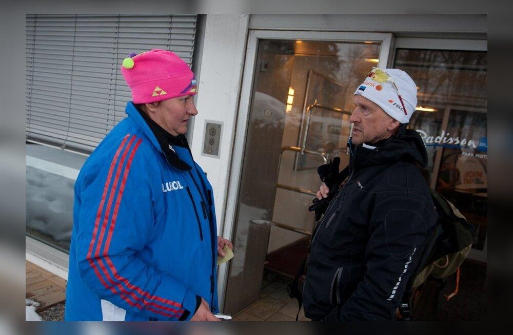 Jelena Välbe ja Mati Alaver