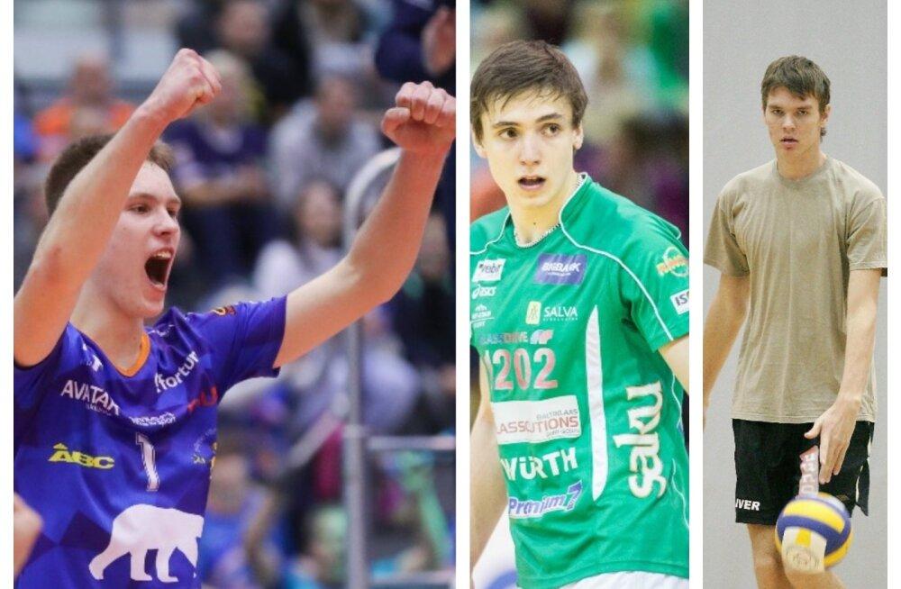 Kui erakordne on 17-aastase võrkpalluri esilekerkimine meeste hulgas? Mida tegid Täht ja Venno selles vanuses?