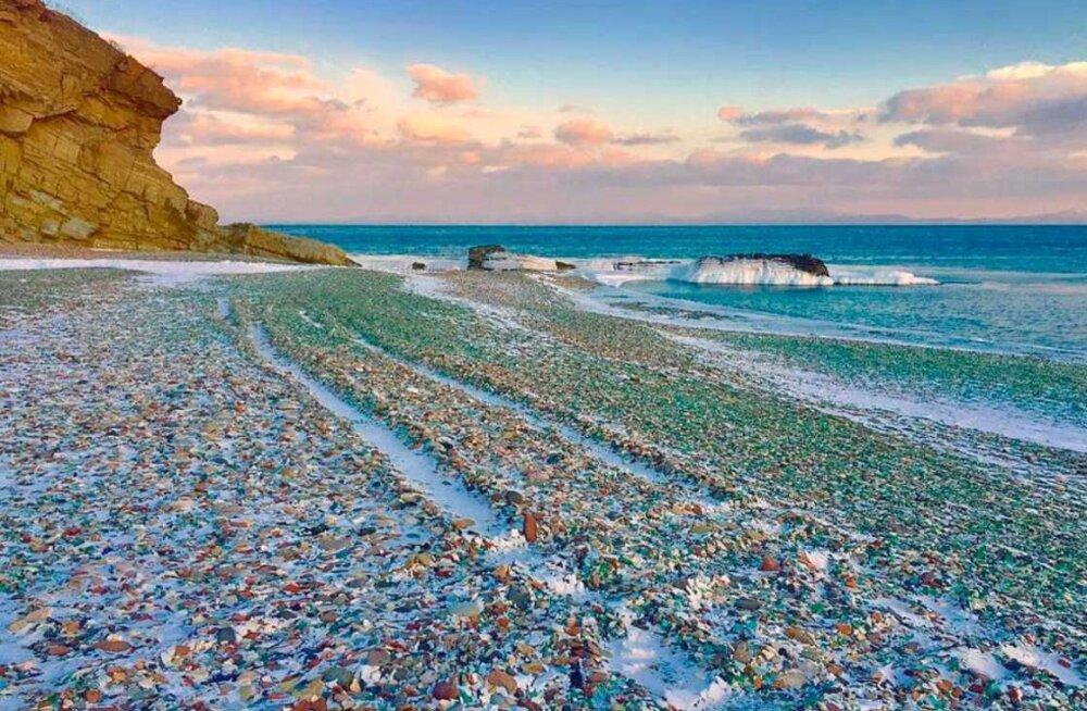 Venemaa rannast sai ülipopulaarne vaatamisväärsus tänu pudelikildudele