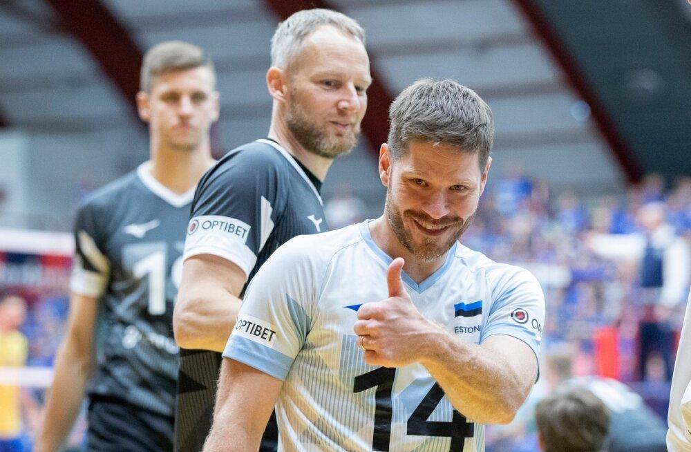 Eesti vs Ukraina võrkpalli EM 18.09.2019