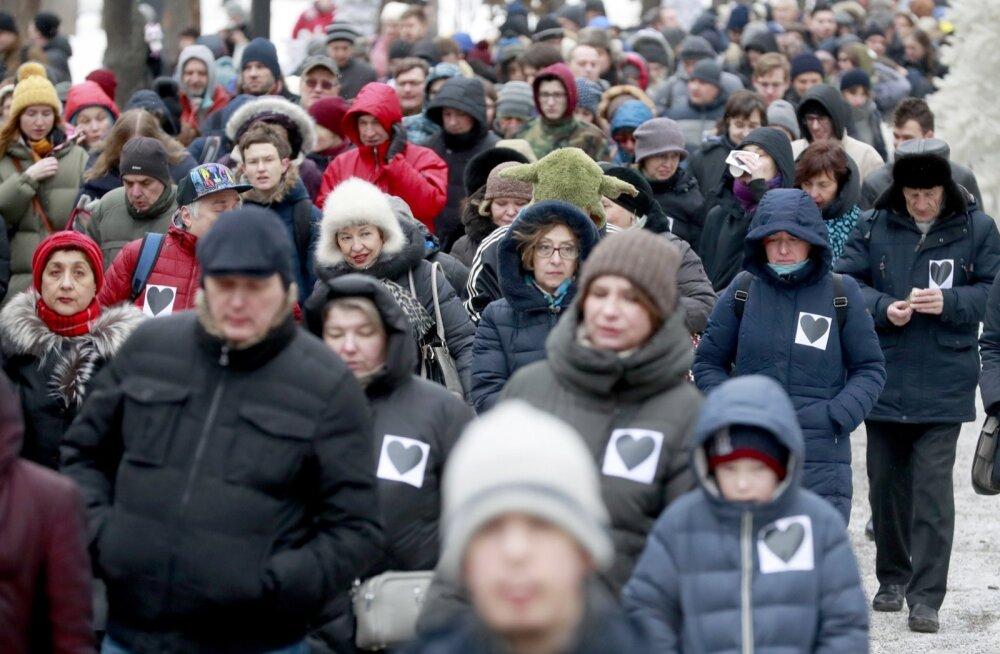 """Venemaal toimusid """"emaviha marsid"""", vahistati kümmekond inimest"""