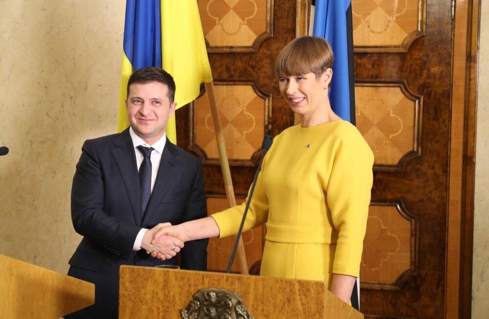 Ukraina presidendi Volodõmõr Zelenskõi visiit Eestisse
