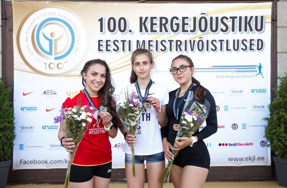 Veel üks kergejõustikutalent: 14aastane tüdruk võttis enda nimele Eesti täiskasvanute tipptulemuse