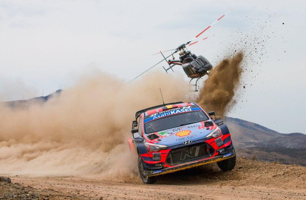 Koroonariskide vähendamiseks on tekkinud Lätil suurem võimalus korraldada WRC-etapp
