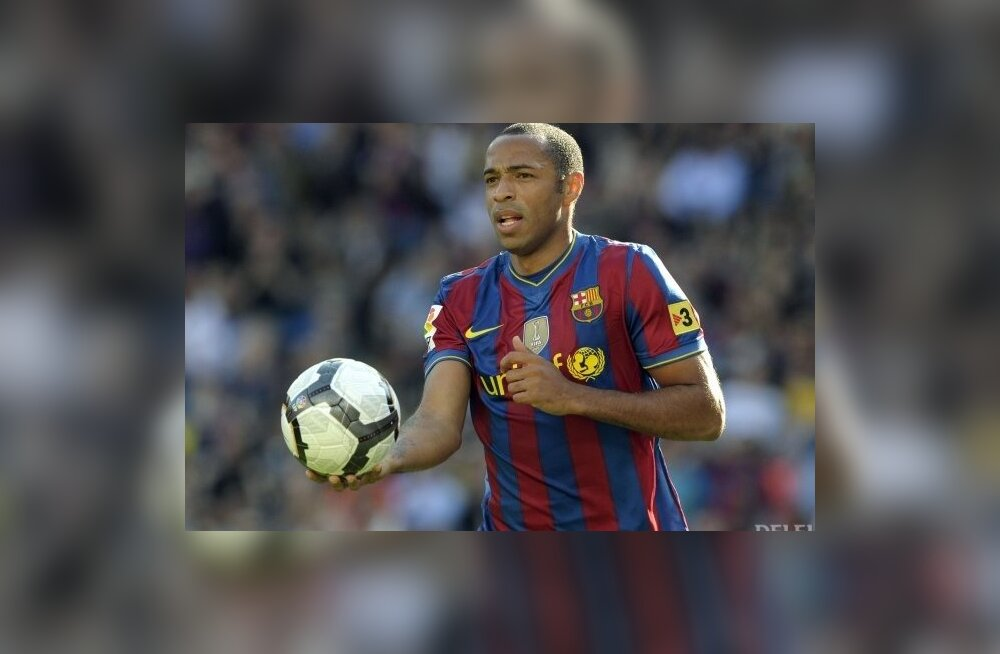 Thierry Henry, FC Barcelona, jalgpall