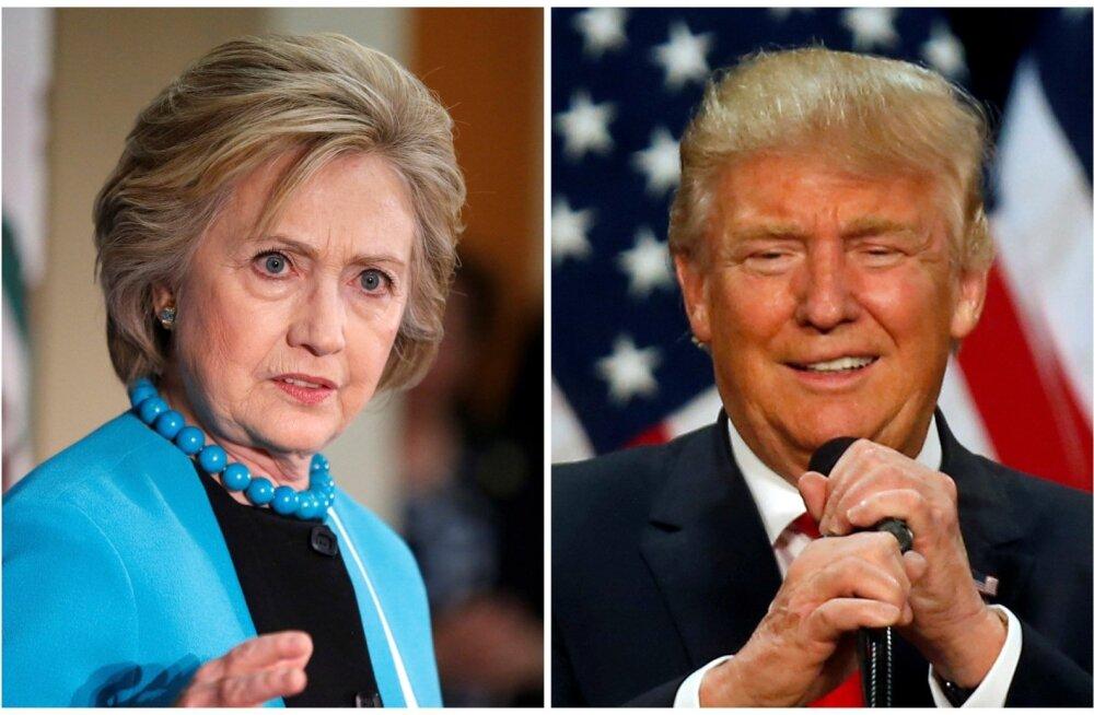 Clinton: nagu ei tohiks Trumpi sõrm olla tuumanupul, ei tohiks ta ka käsi majanduse külge panna