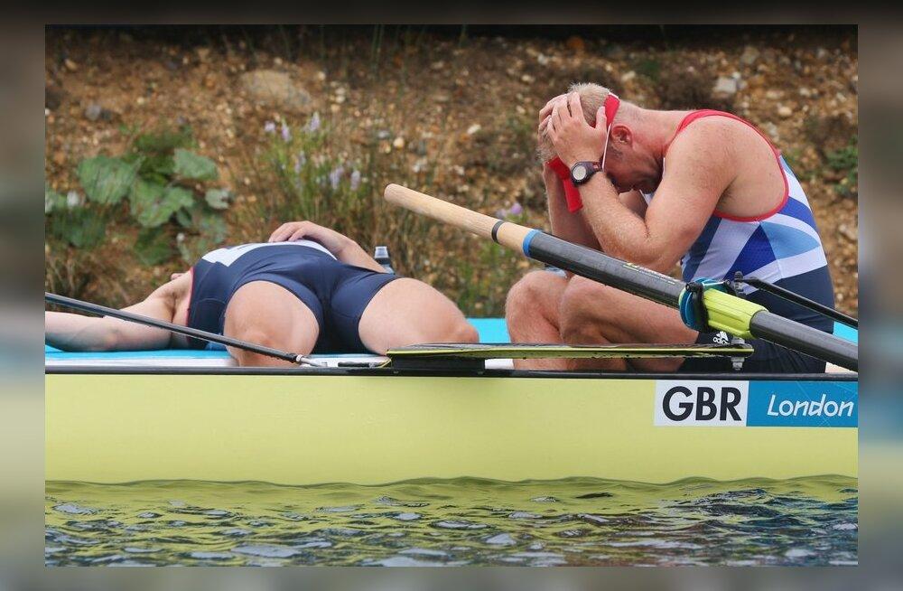 Vaesekesed! Briti sportlased lasid oma olümpiamedalid ära varastada