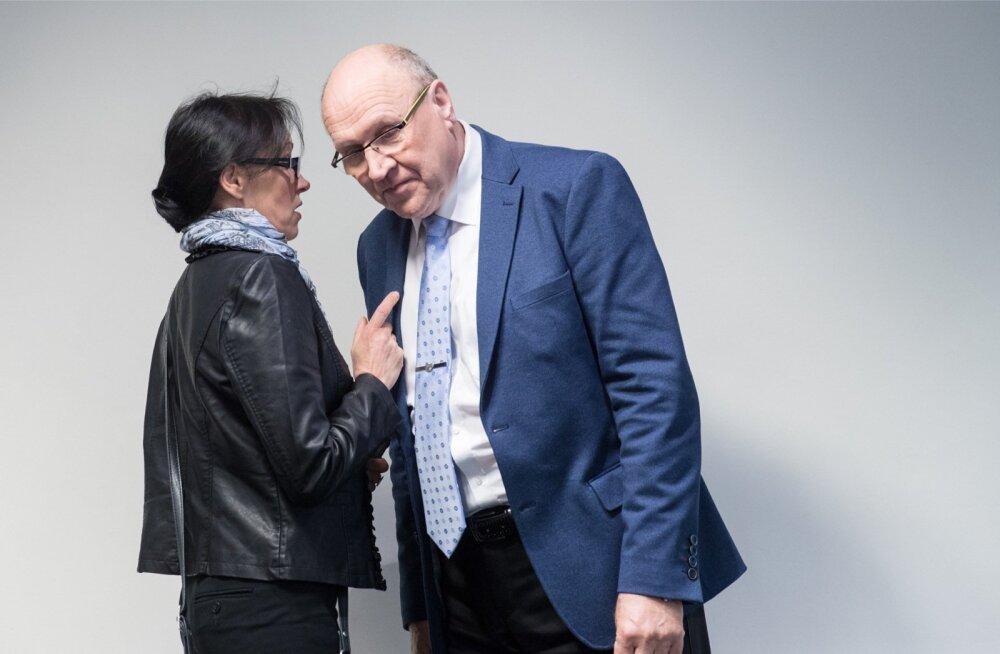 Siiri Sisask ja Mart Helme pole nõus painduma: mõlemad jäid kindlaks oma arvamusele kooseluseaduse kohta.
