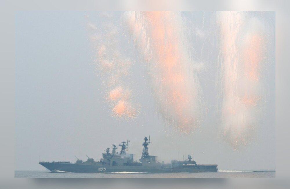 Venemaa korraldab ka Vahemerel väeõppuse