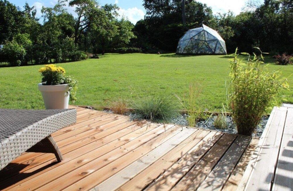 """Fotovõistlus """"Minu kodu suvel"""": Päikeseline aiaparadiis pakub kosutust"""