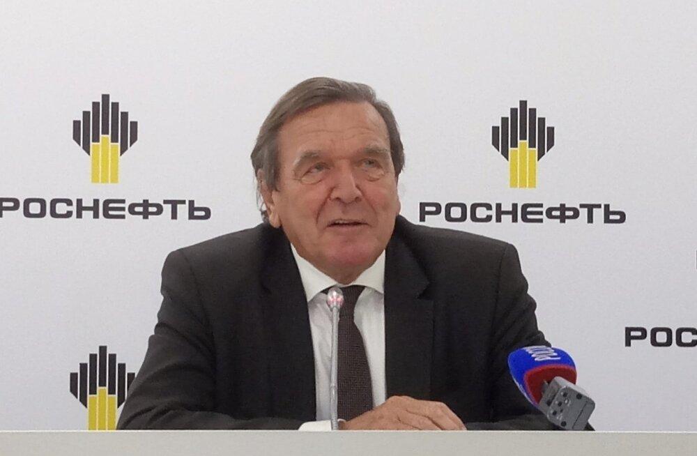 Gerhard Schröder: ettekujutus venelaste isust Baltikumi järele on absurdne