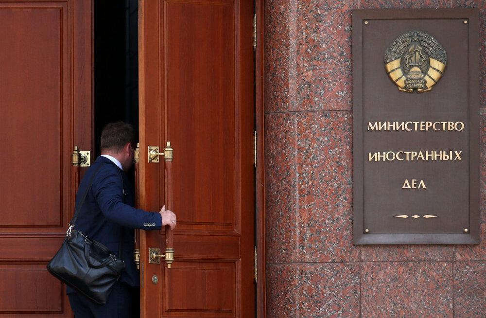 Valgevene välisministeerium lubas Balti riikide sanktsioonidele adekvaatseid vastumeetmeid