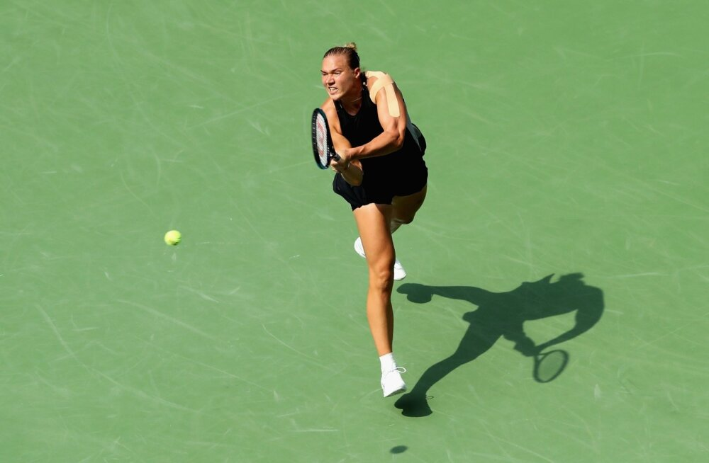 Kaia Kanepi mängis US Openil üle maailma esireketi.