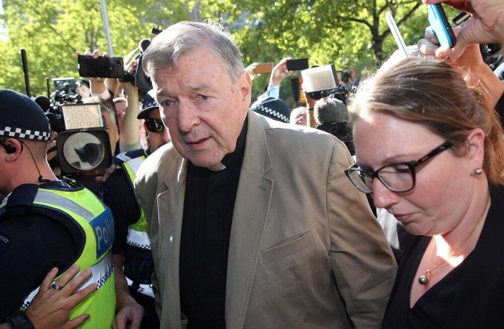 Austraalia kardinal George Pell mõisteti kahe poisi seksuaalse kuritarvitamise eest kuueks aastaks vangi