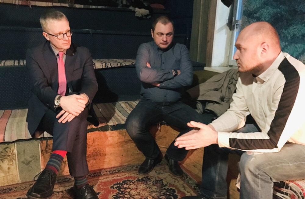 Основатели организации Iga elu поговорили в Нарве с министром о том, что мешает эффективно искать пропавших людей
