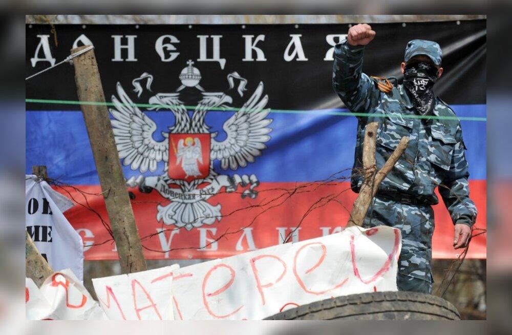 Separatistid kontrollivad administratiivhooneid kaheksas Donetski oblasti linnas