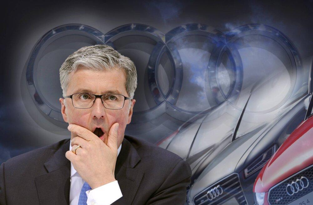 Audi eksjuht sai Dieselgate´i võltsingus süüdistuse