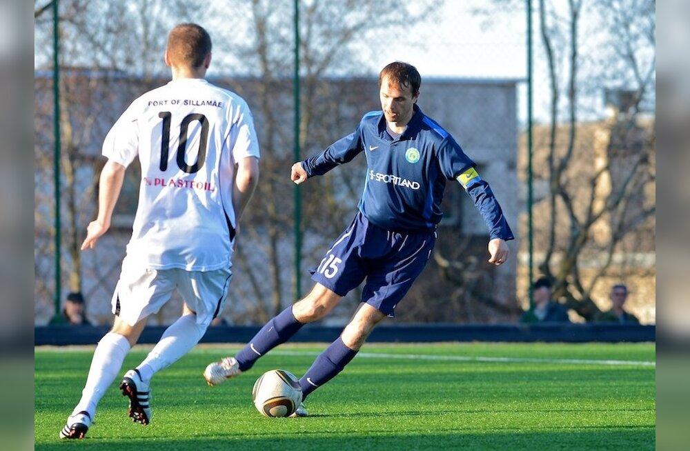Jalgpalli meistriliigas leiab aset Ida-Virumaa klubide suur vastasseis