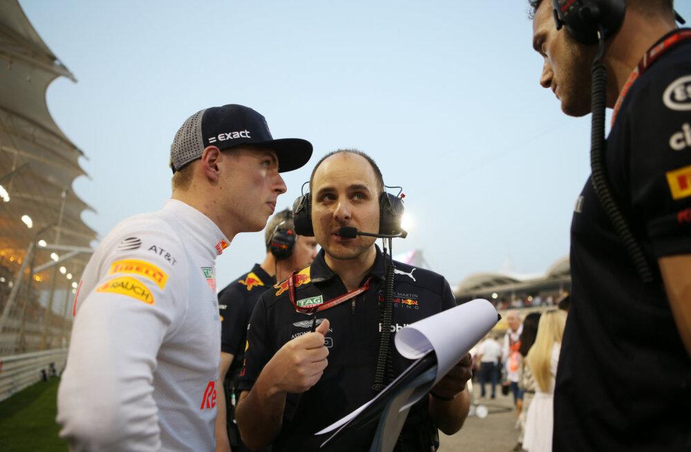 Verstappen vastas esimest korda Hamiltoni ropule märkusele
